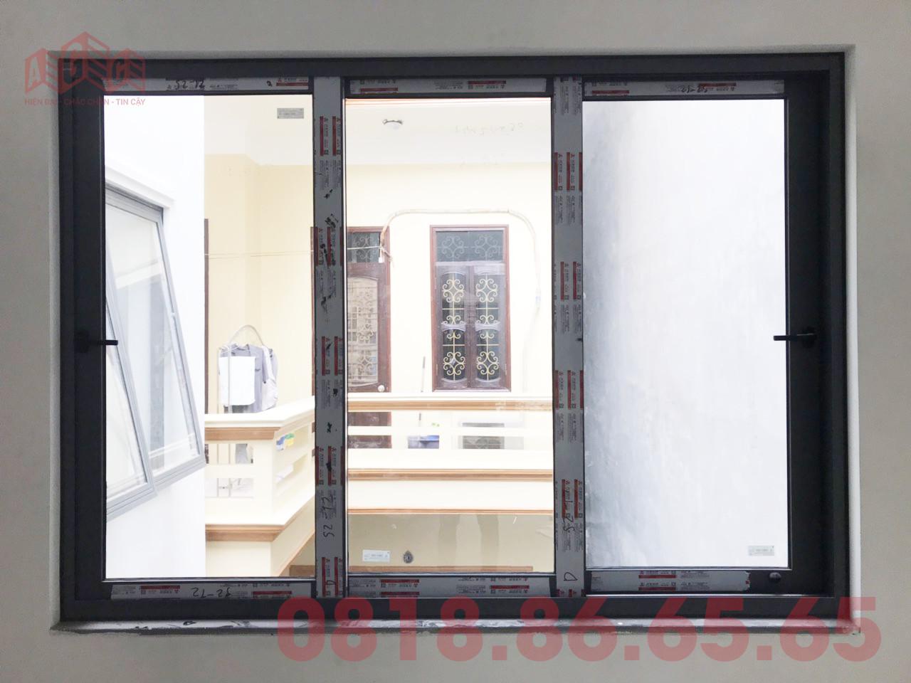 Một số hình ảnh thực tế của sổ mở lùa Xingfa