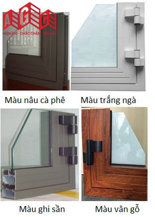 Màu cửa mở quay mở hất Xingfa hay sử dụng