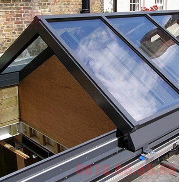 Kính dán phản quang dùng cho mái kính