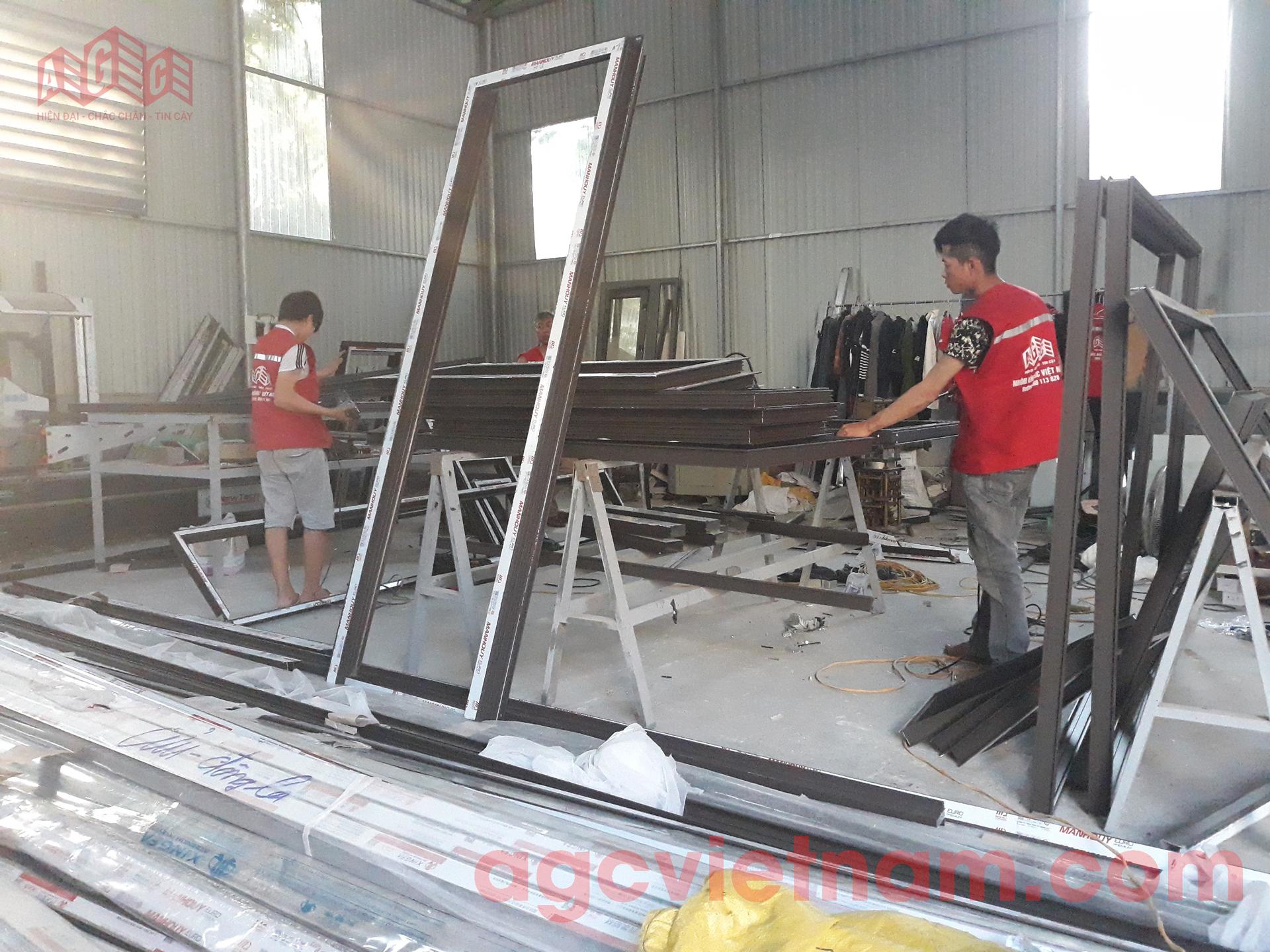 Xưởng sản xuất nhôm kính AGC Việt Nam