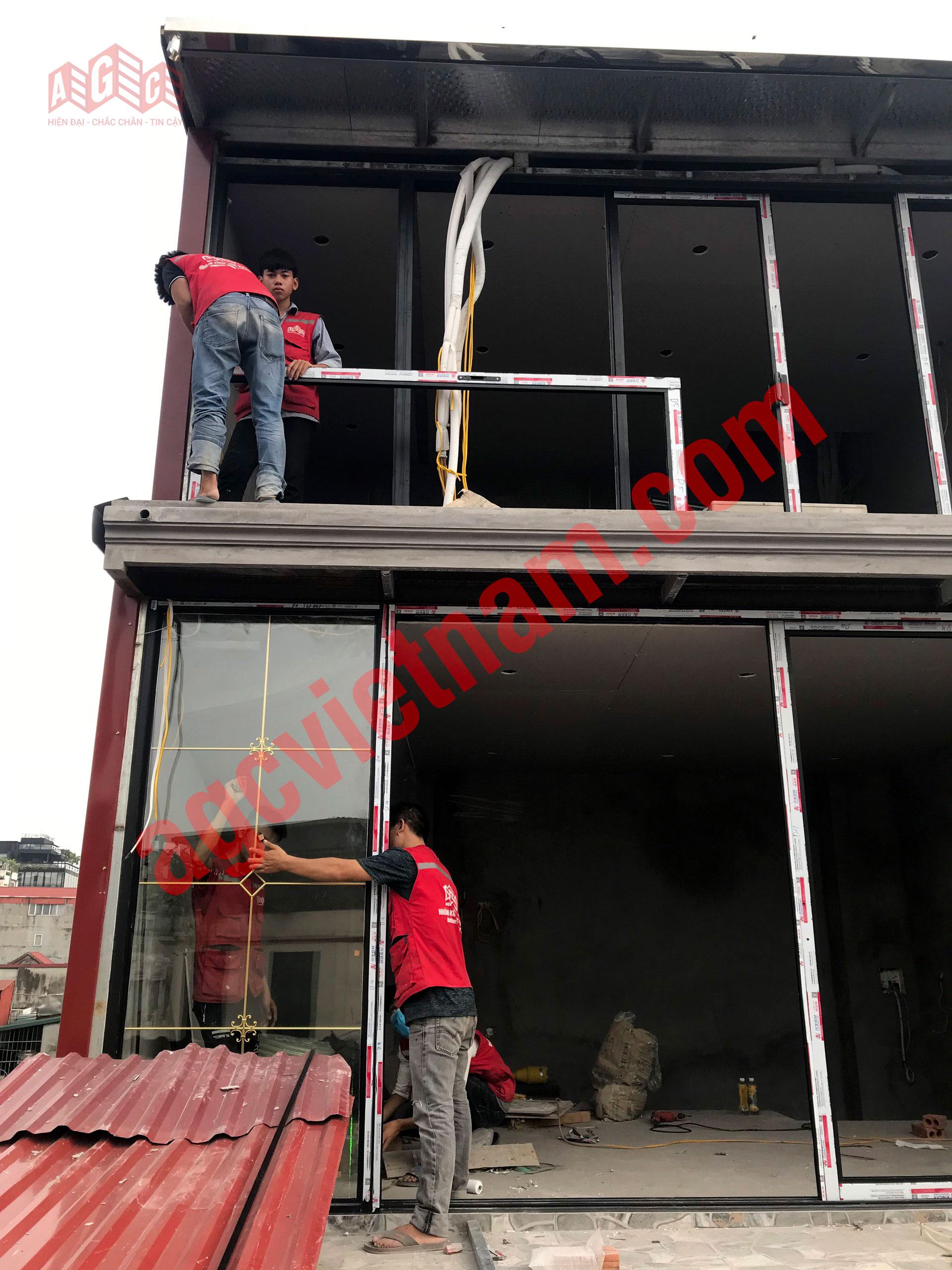 AGC Việt Nam - đơn vị sản xuất, thi công cửa nhôm kính hoa đồng