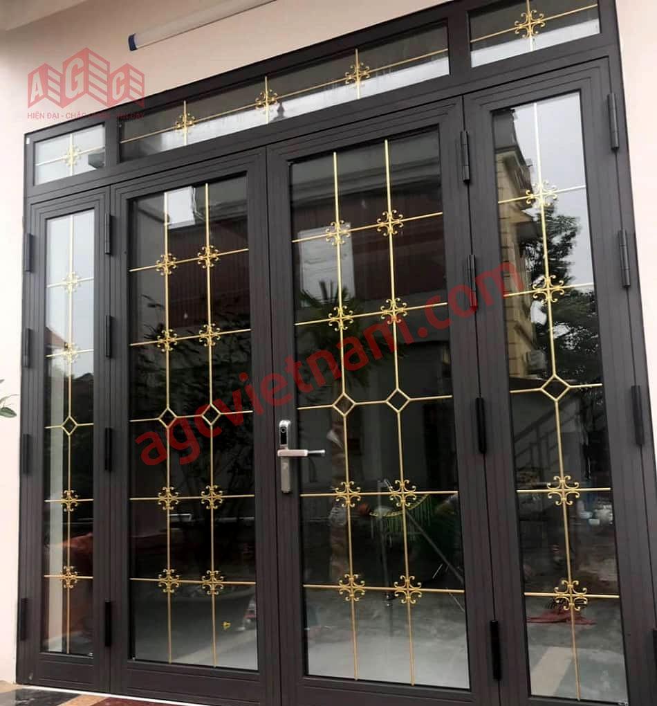 Cửa nhôm kính hoa đồng - sản xuất và thi công nhôm kính AGC Việt Nam